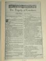 FirstFolio: Coriolanus