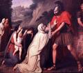 'Venturia at the Feet of Coriolanus' by Gaspare Landi
