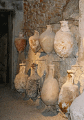 Amphorae at Pula, click to enlarge