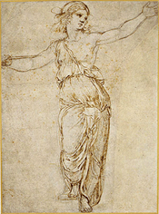 Lucretia, 1508–12 by Raphael, Met Museum, click for full page view