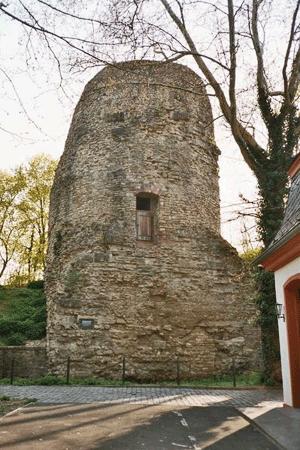 Drusus Cenotaph, 'Drusus-Stein' or 'Eichelstein' at the citadel of Mainz, Germany
