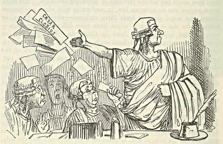 Cicero throws up his Brief, like a Gentleman