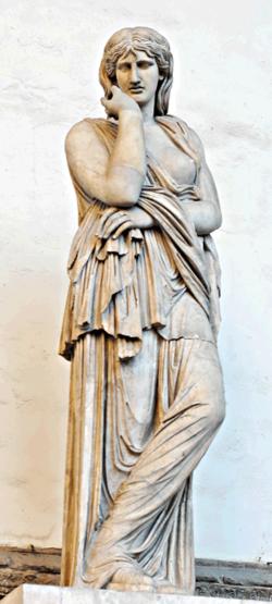 Statue of a Barbarian prisoner, so-called 'Thusnelda'