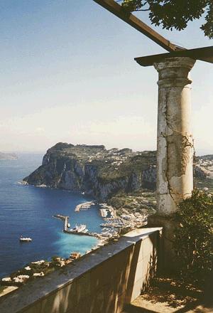 Alex Munthe On Capri In Re Tiberius Roman History Books