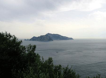 Capri From Punta Campanella