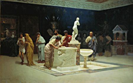 At Maecenas' Reception by Stepan Bakalovich, click to enlarge