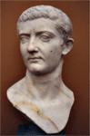 Emperor TiberiusNero. Marble bust from the Ny Carlsberg Glyptotek, Copenhagen