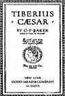 Tiberius Caesar by G.P.Baker