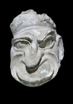 Plaster Theater Mask