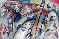 Exhibit page, Vasily Kandinsky, Improvisation 28 (Second Version) (Improvisation 28 [Zweite Fassung]), 1912