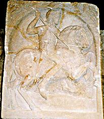Titus Flavius Bassus Stele 2nd half of 1st century CE, Romano-Germanic Museum, Cologne
