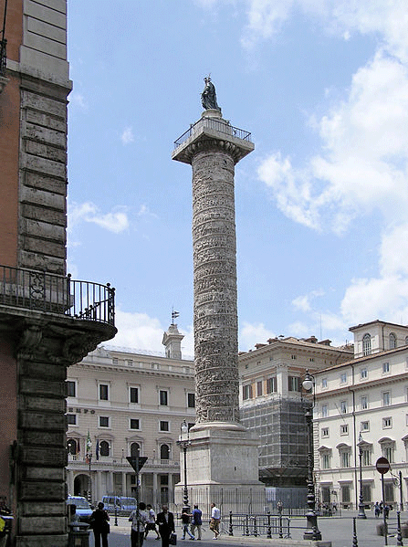 Column-of-marcus-aurelius
