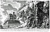 Aqua Appia near the Palatine by Piranesi, click for more