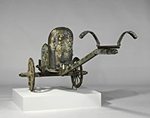 Bronze chariot inlaid with ivory, Etruscan