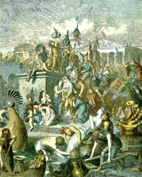 The Sack of Rome by the Vandals