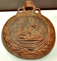 gladiator flask from Cologne