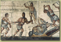 Borghese Gladiator Mosaic, click for larger image