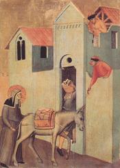 Beata Umilta Transports Bricks to the Monastery, click for larger image