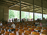 Tanglewood Shed before concert