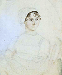 Portrait of Jane Austen (c. 1810)