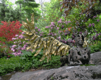 Garden Sculpture, Spring 2008
