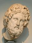 Colossal head of Asclepios
