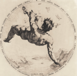Golzius, engraving of Phaethon, public domain image via wikipedia