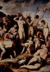 Santi di Tito, Phaethon's Sisters Transformed into Poplars, public domain image via wikipedia