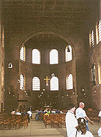 interior of basilica, click for more