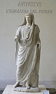 Augustus as Pontifex Maximus, click for large image