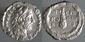 AR denarius, Commodus, click and scroll down