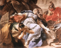 The Death of Sophonisba, by Giambattista Pittoni, click here