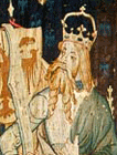 Julius Caesar in the Nine Heroes Tapestry, the Cloisters