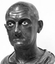 bust of Scipio Africanus the Elder is at the National Museum in Naples, Italy