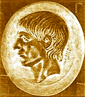 gold signet ring with Scipio portrait