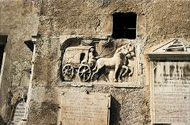 relief with travel carriage, scroll down for larger image